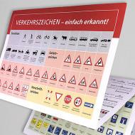 Verkehrszeichen-Spickzettel